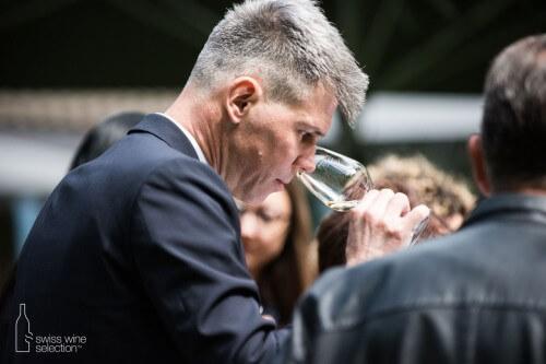 Activité de groupe et dégustation des vins Suisse de qualité
